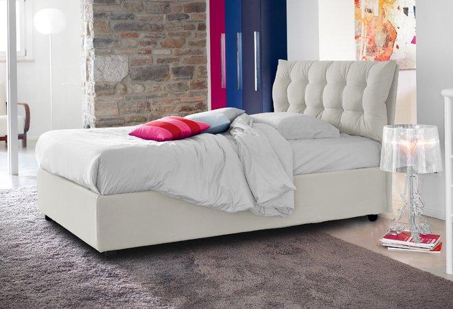 Letto contenitore 1 piazza e mezza elegant for Ikea letto 1 piazza e mezza
