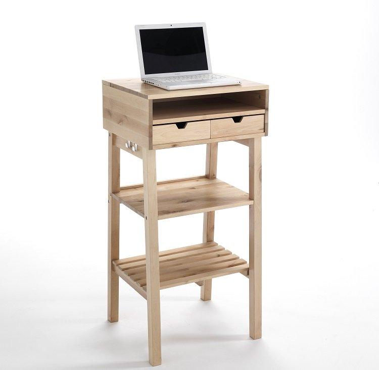 Mobile tavolo alto scrivania per pc in piedi for Tavolo scrivania